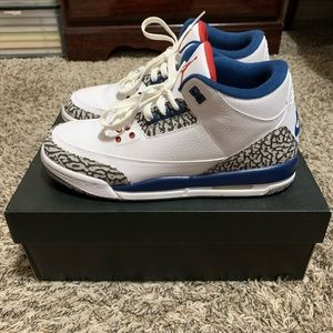 Air Jordan 3 Retro BG (GS) True Blue 2016 Release